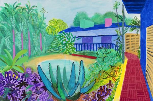 18david-hockney-garden-2015-acrylique-sur-toile-david-hockney-photo-richard-schmidt